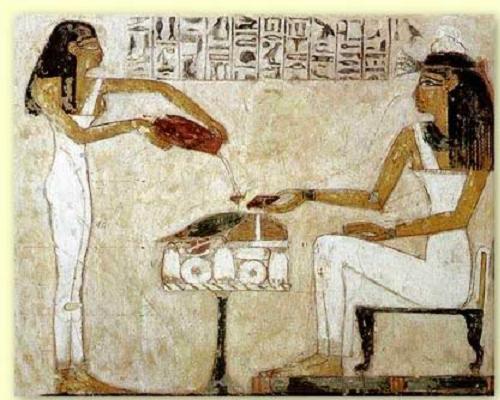 Existen diferentes levaduras involucradas en la producción del vino. Se han encontrado diferentes grabados egipcios donde se hace referencia al cultivo de la vid.